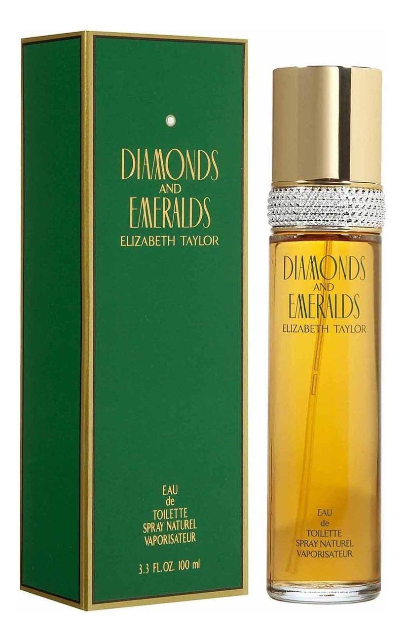 Elizabeth Taylor Diamonds and Emeralds: туалетная вода 100мл elizabeth taylor white diamonds lustre туалетная вода 100мл