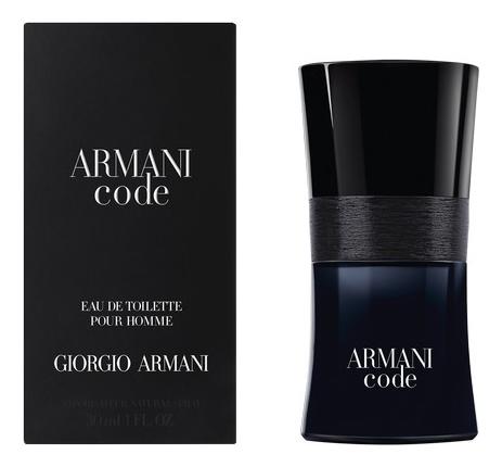 Armani Code pour homme: туалетная вода 30мл