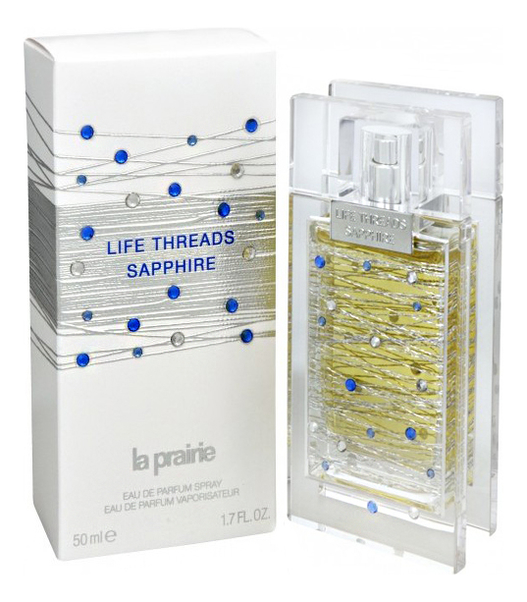 La Prairie Life Threads Sapphire: парфюмерная вода 50мл la prairie life threads emerald туалетные духи тестер 50 мл