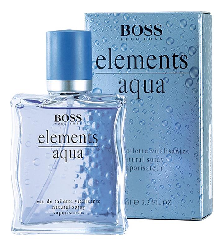 Hugo Boss Boss Elements Aqua: туалетная вода 100мл hugo boss boss elements aqua туалетная вода 5мл