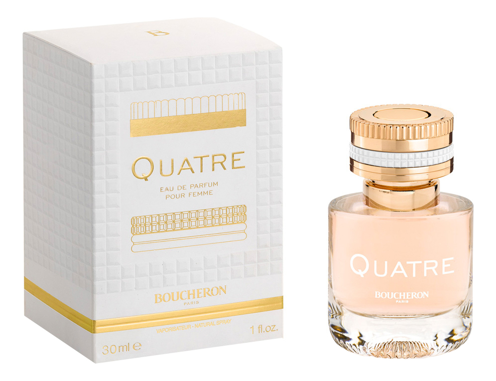 Boucheron Quatre: парфюмерная вода 30мл