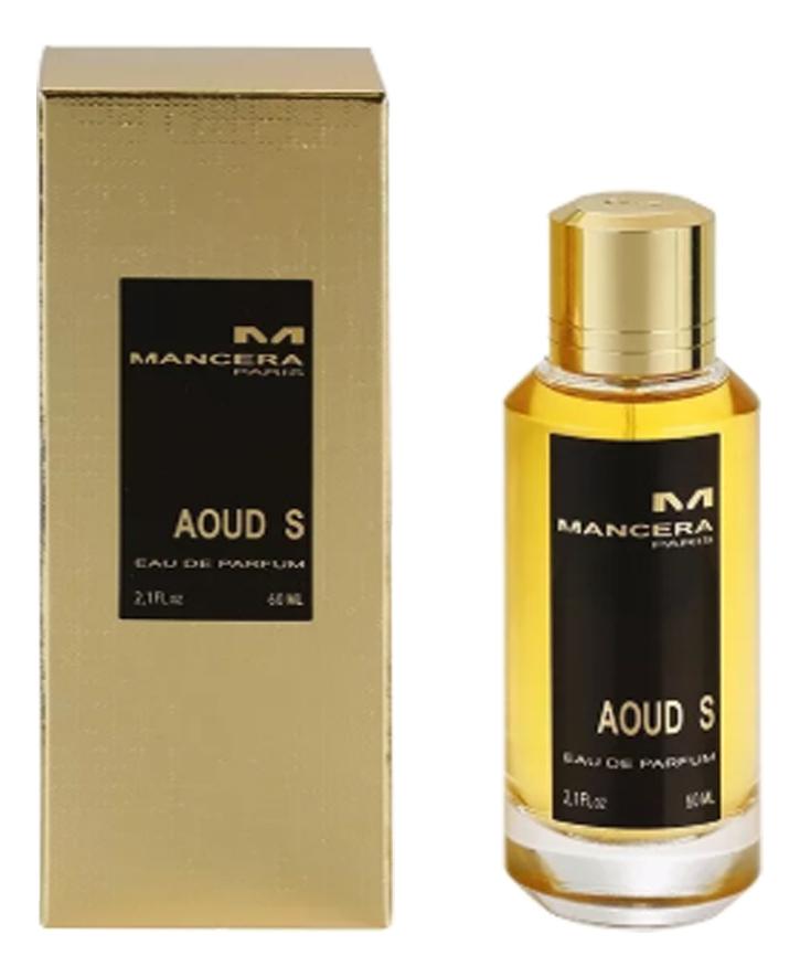 Mancera Aoud S: парфюмерная вода 60мл парфюмерная вода mancera mancera ma163luurm10
