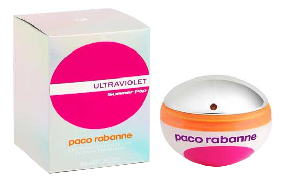 Paco Rabanne Ultraviolet Summer Pop Woman: туалетная вода 80мл
