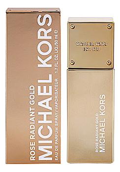 Michael Kors Rose Radiant Gold: парфюмерная вода 50мл michael kors 24k brilliant gold парфюмерная вода 50мл
