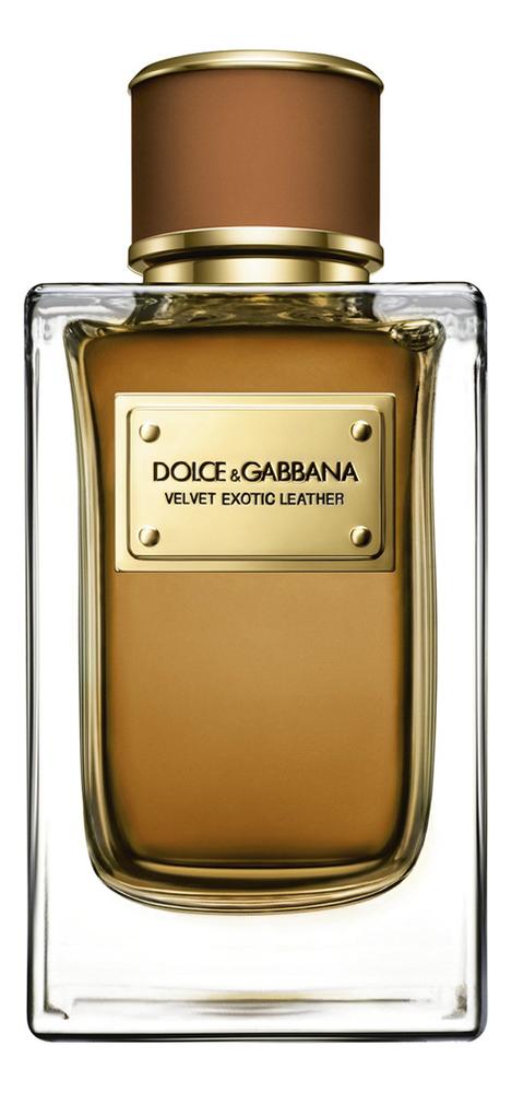 Dolce Gabbana (D&G) Velvet Exotic Leather: парфюмерная вода 2мл d orsay l intrigante парфюмерная вода 2мл