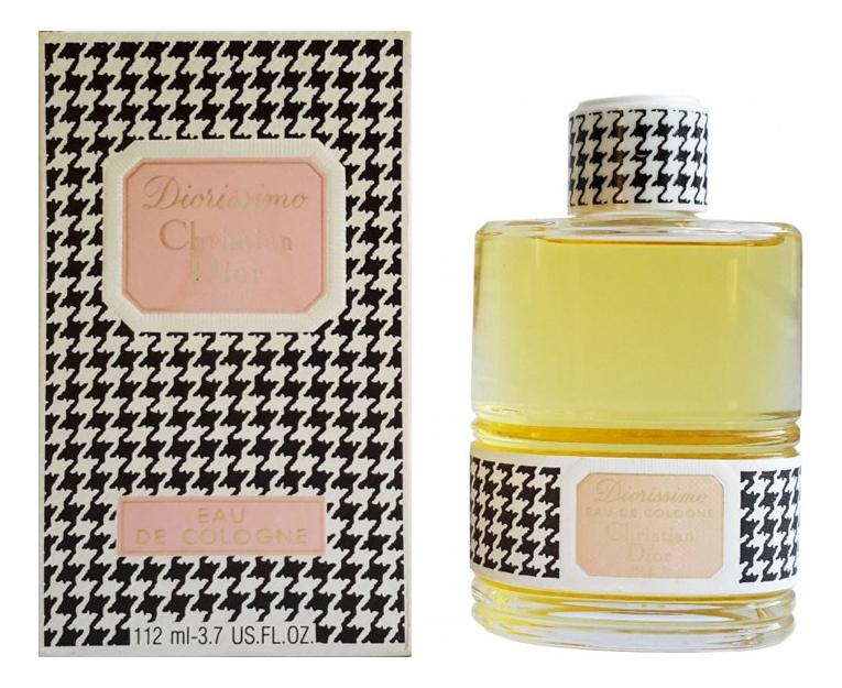 Christian Dior Diorissimo Винтаж: одеколон 112мл dior diorissimo туалетная вода