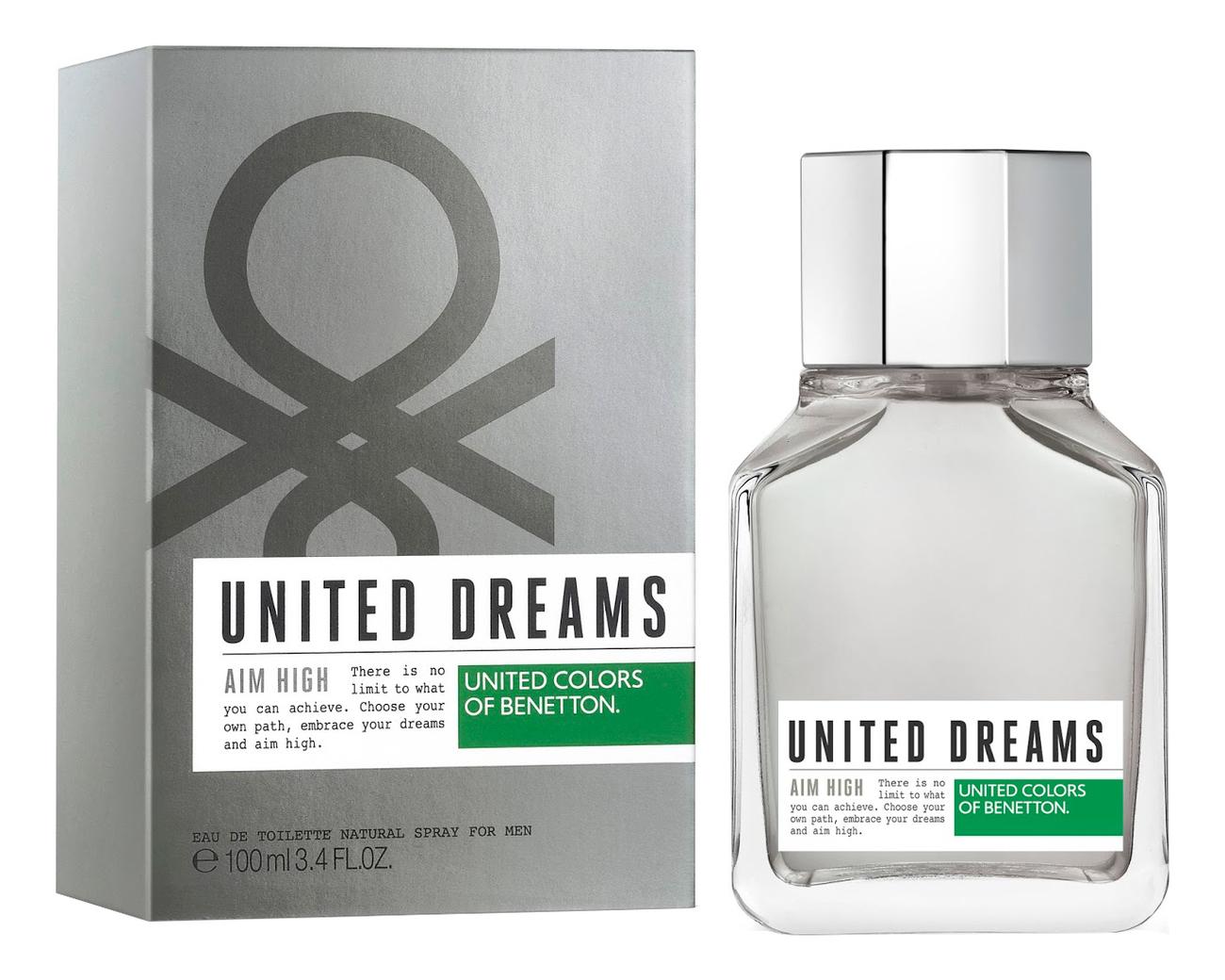 Benetton United Dreams Men Aim High: туалетная вода 100мл