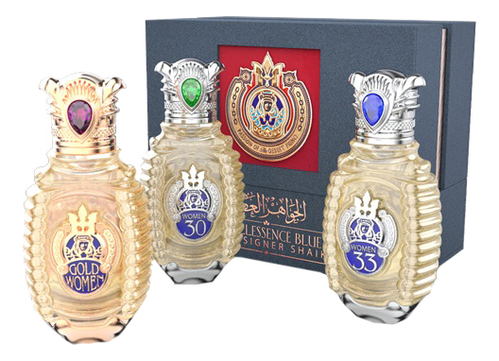 Shaik Limited Edition Travel Shaik Perfume Collection for women: парфюмерная вода 3*30мл (Shaik 30, 33, Gold Women) shaik ameer basha jerdon s courser rhinoptilus bitorquatus