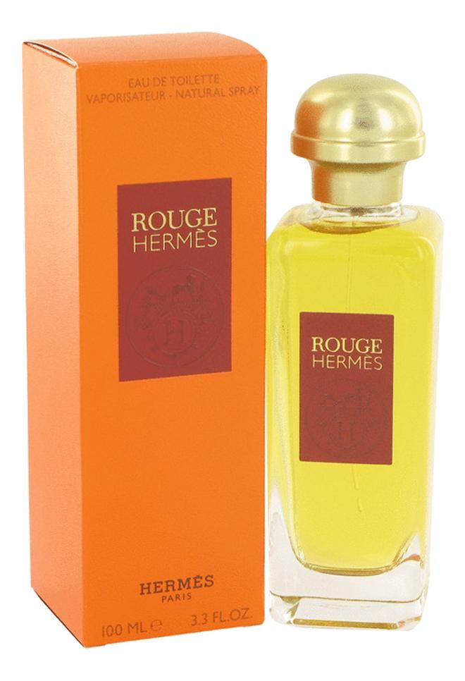 Hermes Rouge: туалетная вода 100мл hermes rouge туалетная вода 100 мл