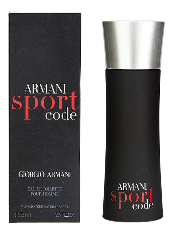 Armani Code Sport men: туалетная вода 75мл