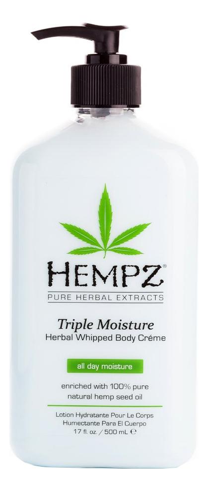 Молочко для тела тройное увлажнение Herbal Body Triple Moisture: Молочко 500мл шампунь 1000 мл hempz тройное увлажнение
