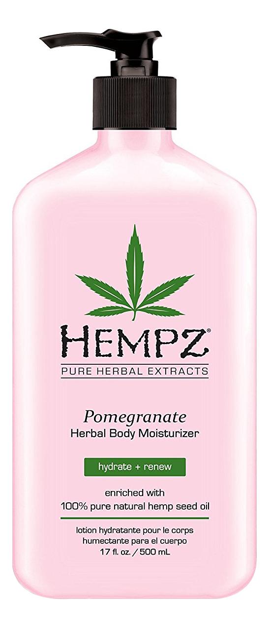 Фото - Увлажняющее молочко для тела Pomegranate Herbal Body Moisturizer (гранат): Молочко 500мл hempz молочко original herbal moisturizer для тела увлажняющее оригинальное 500 мл