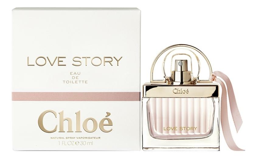 Chloe Love Story Eau de Toilette: туалетная вода 30мл chloe love story eau de toilette
