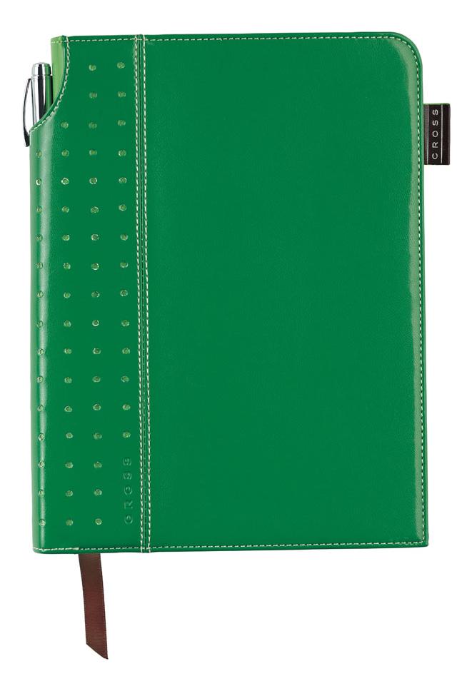 Записная книжка Journal Signature A5 (250 страниц в линейку + ручка) зеленая a5 spiral planner notebook diary three fold dokibook pad school office agenda filofax travels sketchbook journal