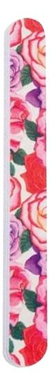 Пилка для ногтей Beauty 9102747 18см (розы) пилка для ногтей beauty 9102822 18см губы