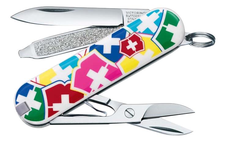 Нож-брелок VX Colors 58мм 7 функций