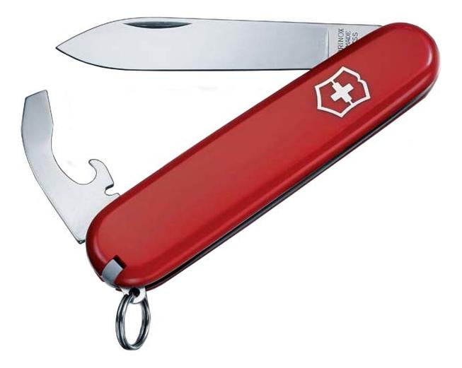 Нож перочинный Bantam 84мм 8 функций (красный) нож victorinox bantam 0 2303 red