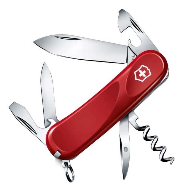 Нож перочинный Evolution 10 85мм 13 функций (красный) нож перочинный victorinox victorinox evolution 17 85мм