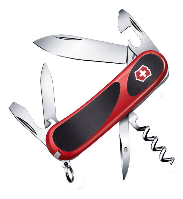 Нож перочинный Evolution 10 85мм 13 функций нож перочинный victorinox victorinox evolution 17 85мм