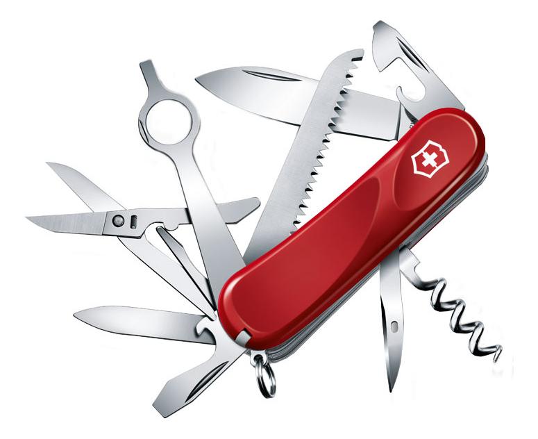 Нож перочинный Evolution 23 85мм 17 функций (красный) нож перочинный victorinox victorinox evolution 17 85мм