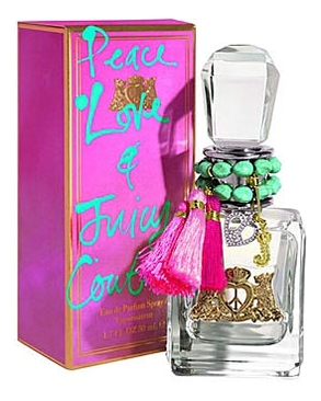 Juicy Couture Peace Love & Juicy Couture: парфюмерная вода 50мл сумка juicy couture