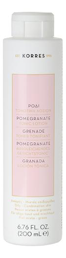 цены Тонизирующий лосьон для лица с экстрактом граната Pomegranate Tonic Lotion 200мл