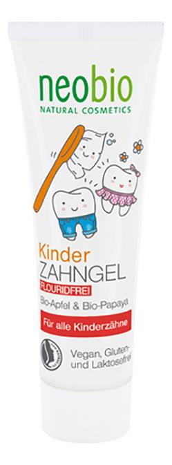 Зубная паста без фтора для детей Children Gel Toothpaste Fluoride-Free 50мл