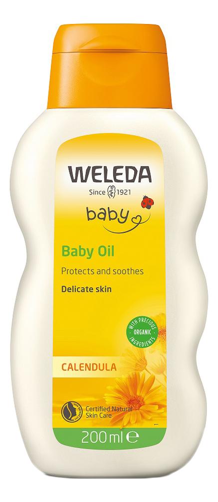 Масло с экстрактом календулы для младенцев нежным ароматом Baby Calendula Oil 200мл