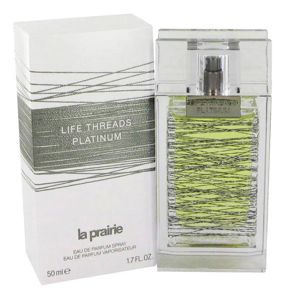 La Prairie Life Threads Platinum: парфюмерная вода 50мл la prairie life threads emerald туалетные духи тестер 50 мл