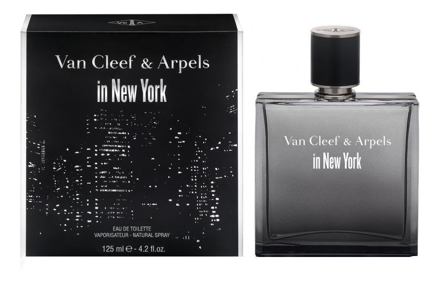 Van Cleef & Arpels in New York: туалетная вода 125мл van cleef feerie rose des neiges туалетная вода 30 мл