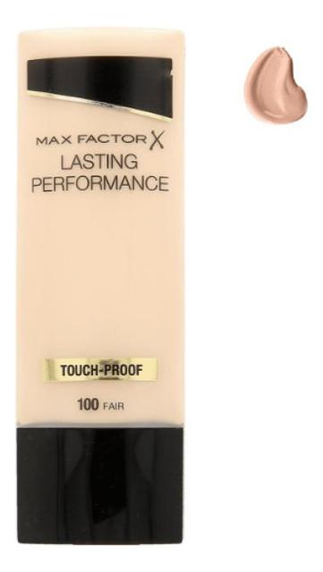 Тональная основа под макияж Lasting Performance 35мл: 100 Fair max factor макс фактор 101 35мл жидкое тональное прочного нефрита фарфора цвета переименованы розовый держать макияж жидкое тональное средство