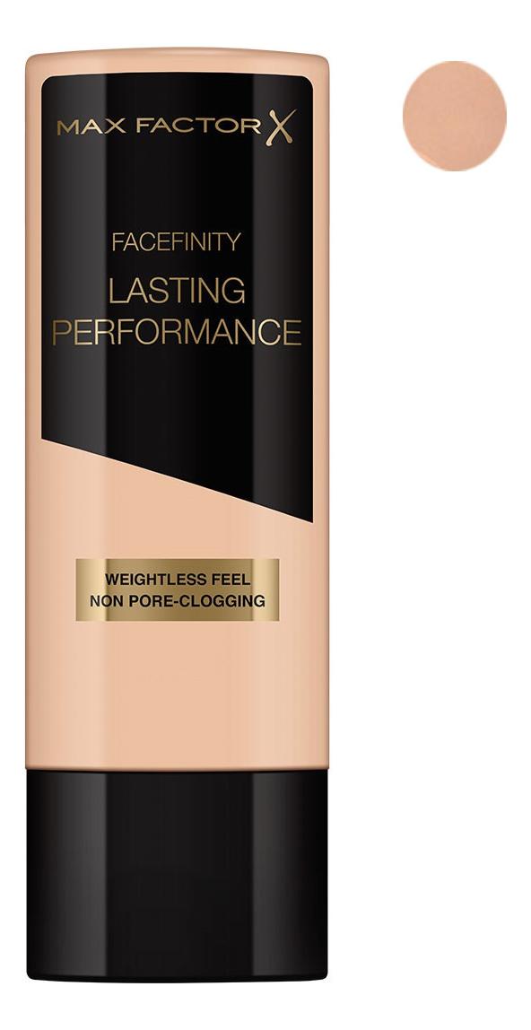 Тональная основа под макияж Lasting Performance 35мл: 106 Natural Beige max factor макс фактор 101 35мл жидкое тональное прочного нефрита фарфора цвета переименованы розовый держать макияж жидкое тональное средство