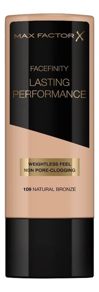 Тональная основа под макияж Lasting Performance 35мл: 109 Natural Bronze max factor макс фактор 101 35мл жидкое тональное прочного нефрита фарфора цвета переименованы розовый держать макияж жидкое тональное средство
