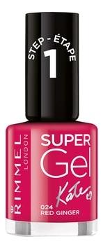 Гель-лак для ногтей Super Gel Nail Polish 12мл: 024 Red Ginger