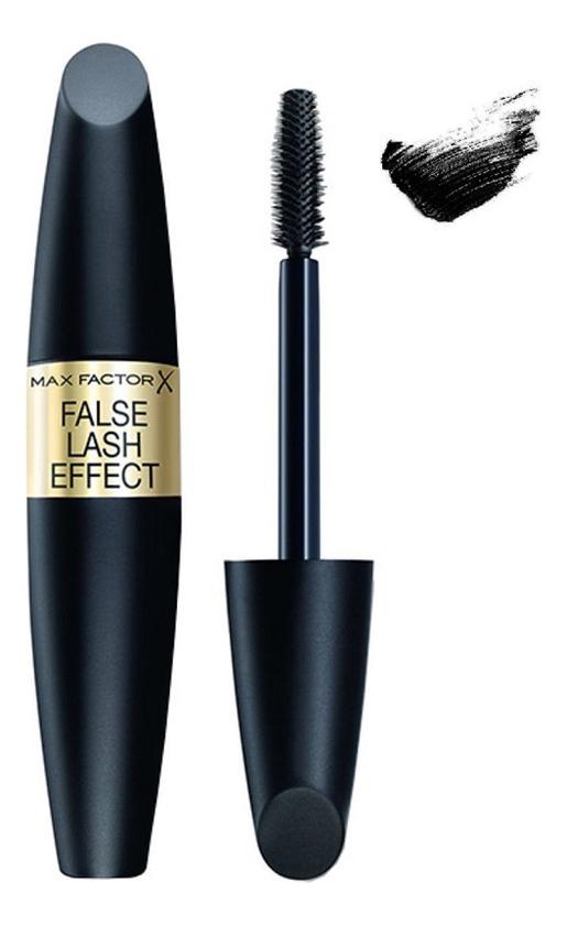 Тушь для ресниц с эффектом накладных ресниц False Lash Effect 13,1мл: 01 Black max factor false lash effect waterproof