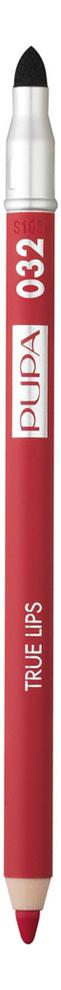 Карандаш для губ с аппликатором True Lips Pencil 1,2г: 032 Strawberry Red