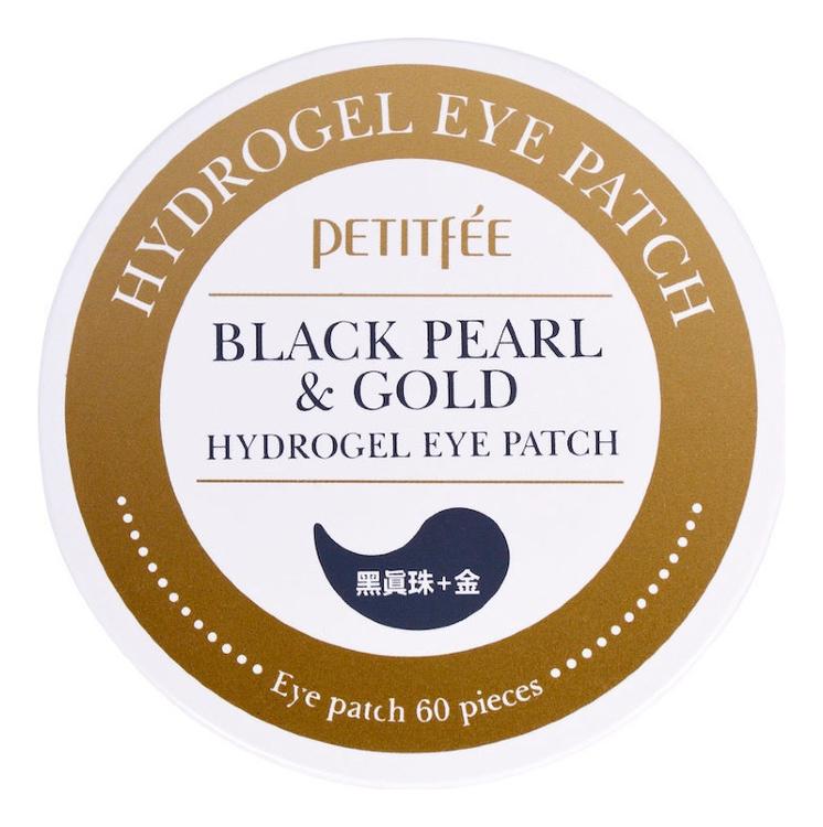 Гидрогелевые патчи для области вокруг глаз Black Pearl & Gold Hydrogel Eye Patch 60шт