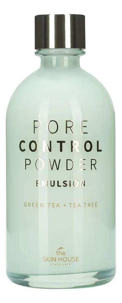 Эмульсия для сужения расширенных пор Pore Control Powder Emulsion 130мл глина для сужения пор 100 мл the skin house 8 марта женщинам
