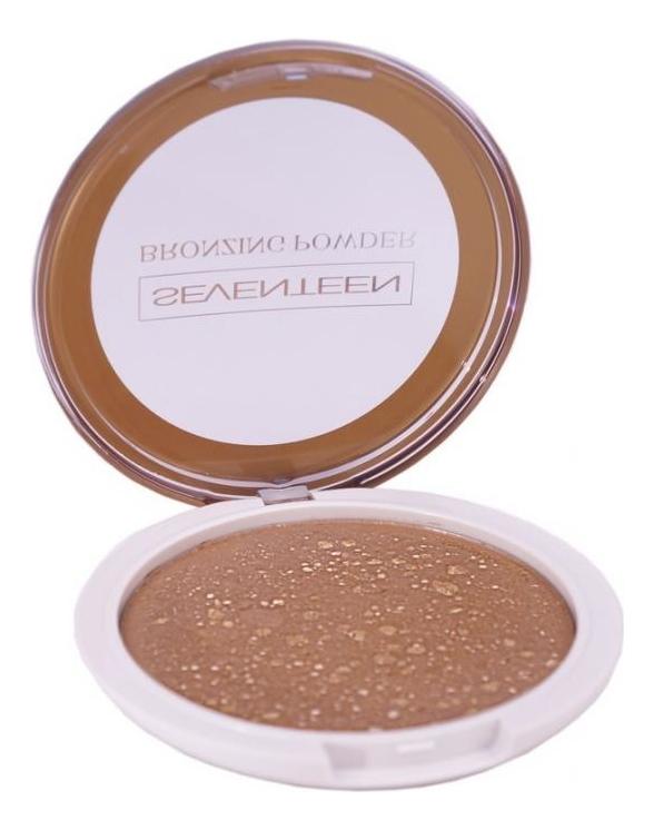 Компактная пудра для лица с бронзирующим эффектом Bronzing Powder 16г: No 1 gosh bronzing powder