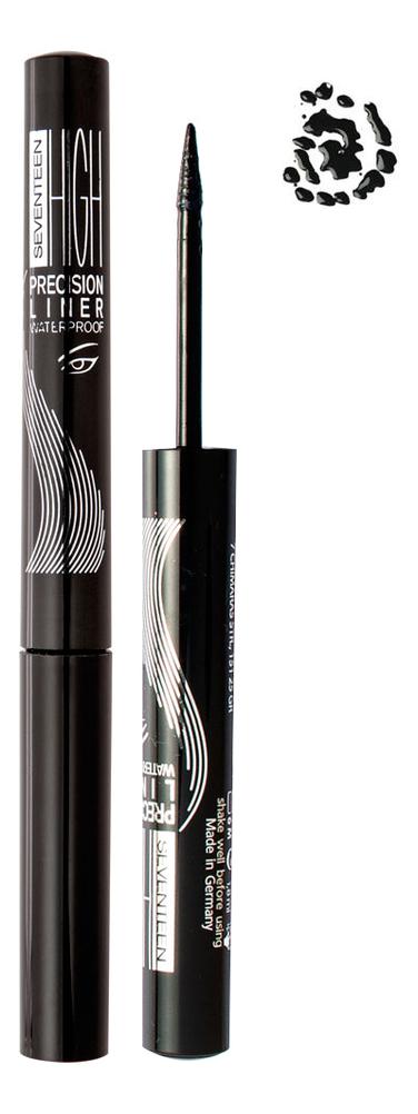 Подводка для глаз High Precision Waterproof Liquid Eye Liner 1,8мл: 01 Carbon Black водостойкая подводка для глаз liquid precision liner 2000 procent 4мл