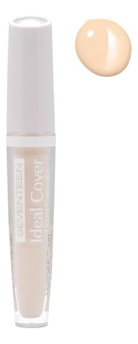Консилер для лица Ideal Cover Liquid Concealer 5г: 03 Ivory limoni skin liquid concealer консилер тон 03 2 г