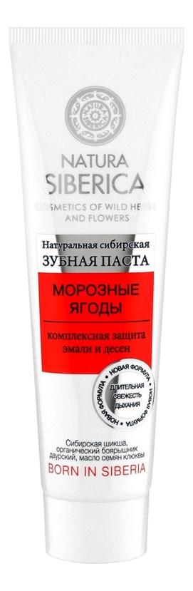 Зубная паста Морозные ягоды 100г