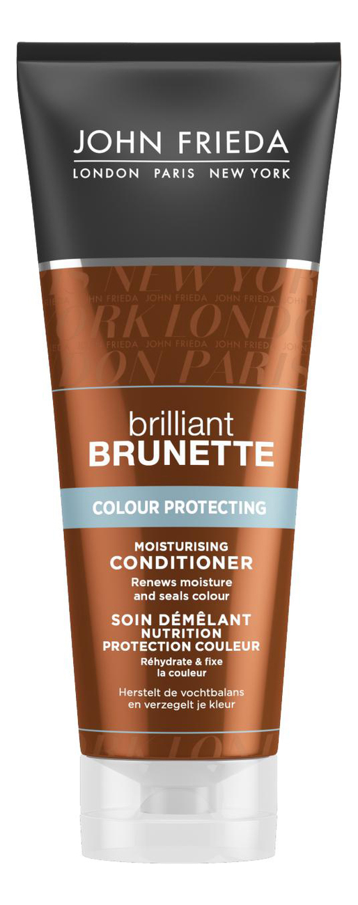 Кондиционер для защиты цвета темных волос Brilliant Brunette Colour Protecting Moisturising Conditioner 250мл alchemy gothic r183l n vis viva ring l 6 n 7
