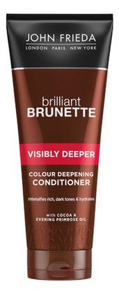 Кондиционер для насыщенного оттенка темных волос Brilliant Brunette Visibly Deeper Colour Conditioner 250мл conditioners john frieda jjf511220 air conditioner for hair care enhancement and nutrition vitamins