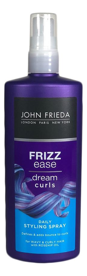 Спрей для создания идеальных локонов Frizz Ease Dream Curls Daily Styling Spray 200мл john frieda frizz ease dream curls conditioner
