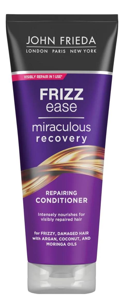 Кондиционер для непослушных волос Frizz Ease Miraculous Recovery Repairing Conditioner 250мл conditioners john frieda jjf511220 air conditioner for hair care enhancement and nutrition vitamins