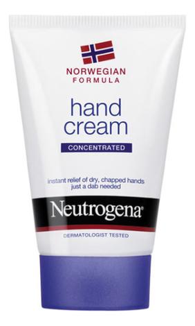 Крем для рук с запахом Норвежская формула Concentrated Hand Cream 50мл нитроджина помада для губ spf20 4 8 гр neutrogena норвежская формула