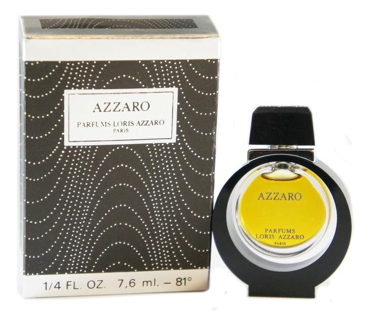Azzaro Винтаж: духи 7,5мл loris azzaro azzaro pour elle туалетные духи тестер 75 мл