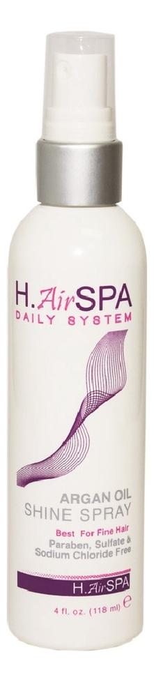Спрей для блеска волос на масле арганы Argan Oil Shine Spray 118мл