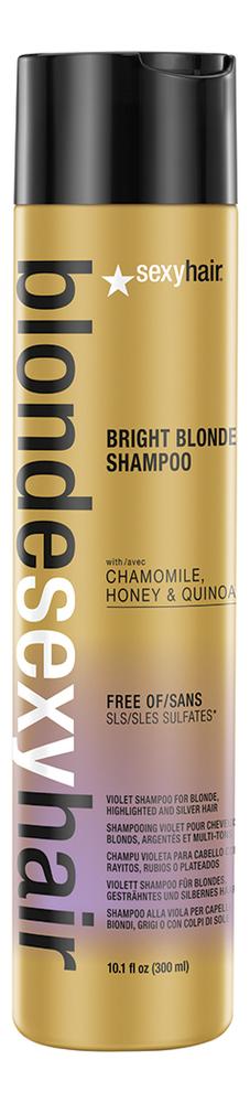 Шампунь корректирующий Сияющий блонд без сульфатов Blonde Sulfate-Free Bright Blonde Shampoo: Шампунь 300мл